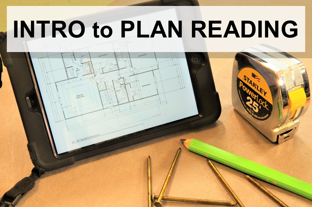 Intro to Residential Plan Reading